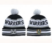 NRL Beanies New Zealand Warriors Black Grey White