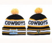 NRL Beanies North Queensland Cowboys Black Yellow White