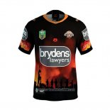 Wests Tigers Rugby Shirt 2018 Commemorative