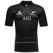 New Zealand All Blacks Rugby Shirt 2016 Home