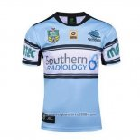 Cronulla Sharks Rugby Shirt 2016 Home