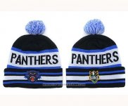 NRL Beanies Penrith Panthers Black White Royal Blue