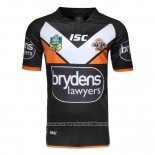Wests Tigers Rugby Shirt 2016 Home