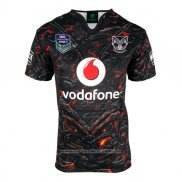 New Zealand Warriors Rugby Shirt 2017 Home2