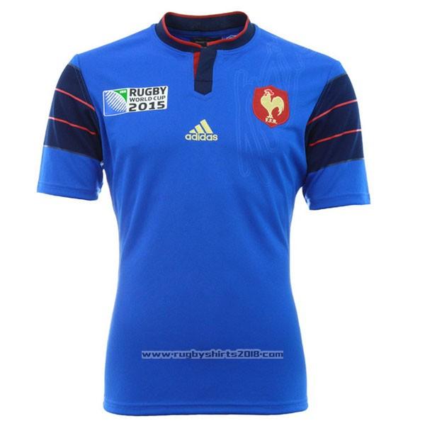 b0f98f5d France Rugby Shirt 2015 Home   rugbyshirts2018.com