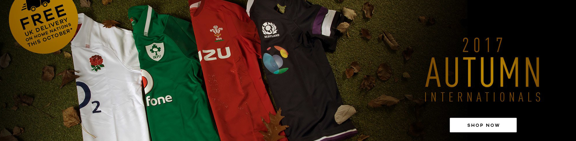 6 Nations Rugby Shirt 2018
